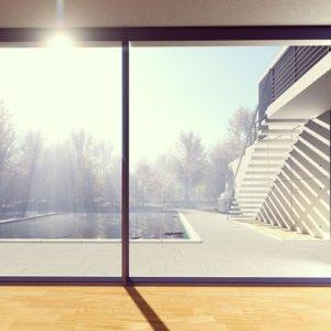 Fensterbau finestra per esposizione