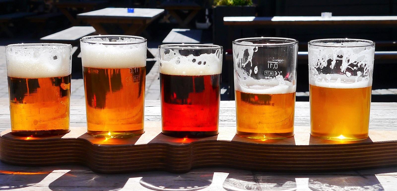 Assaggio di birre artigianali in occasione della Craft Beer Italy