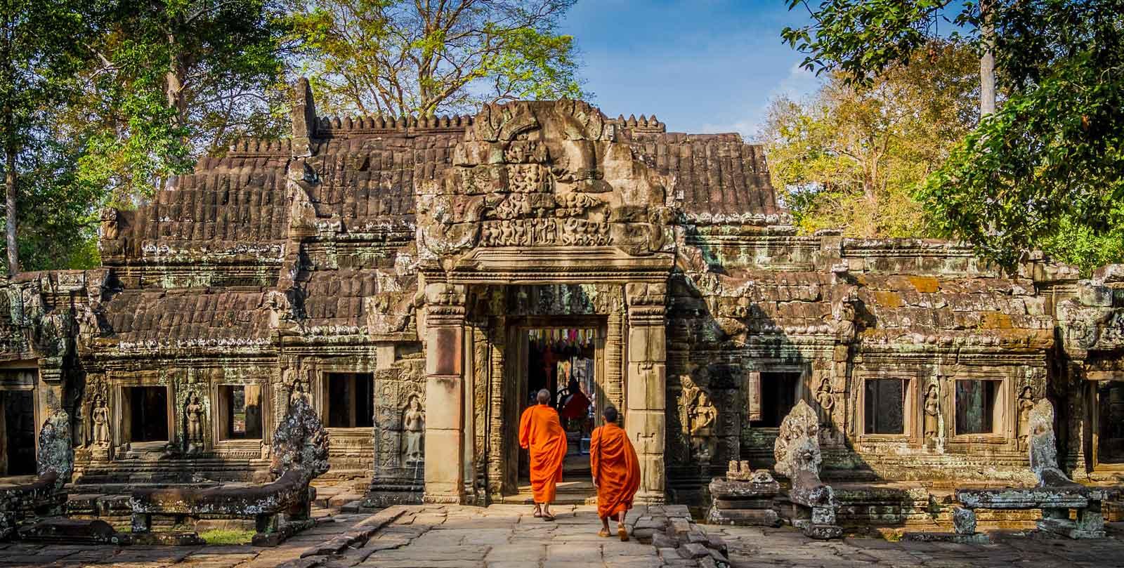 viaggio in cambogia angkor