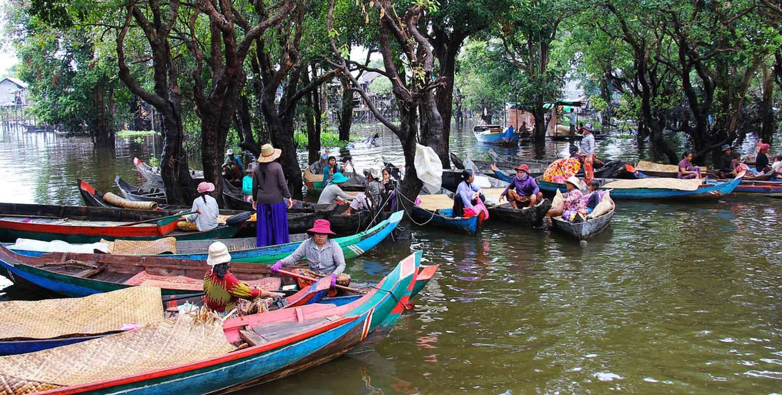 viaggio in cambogia tonle sap