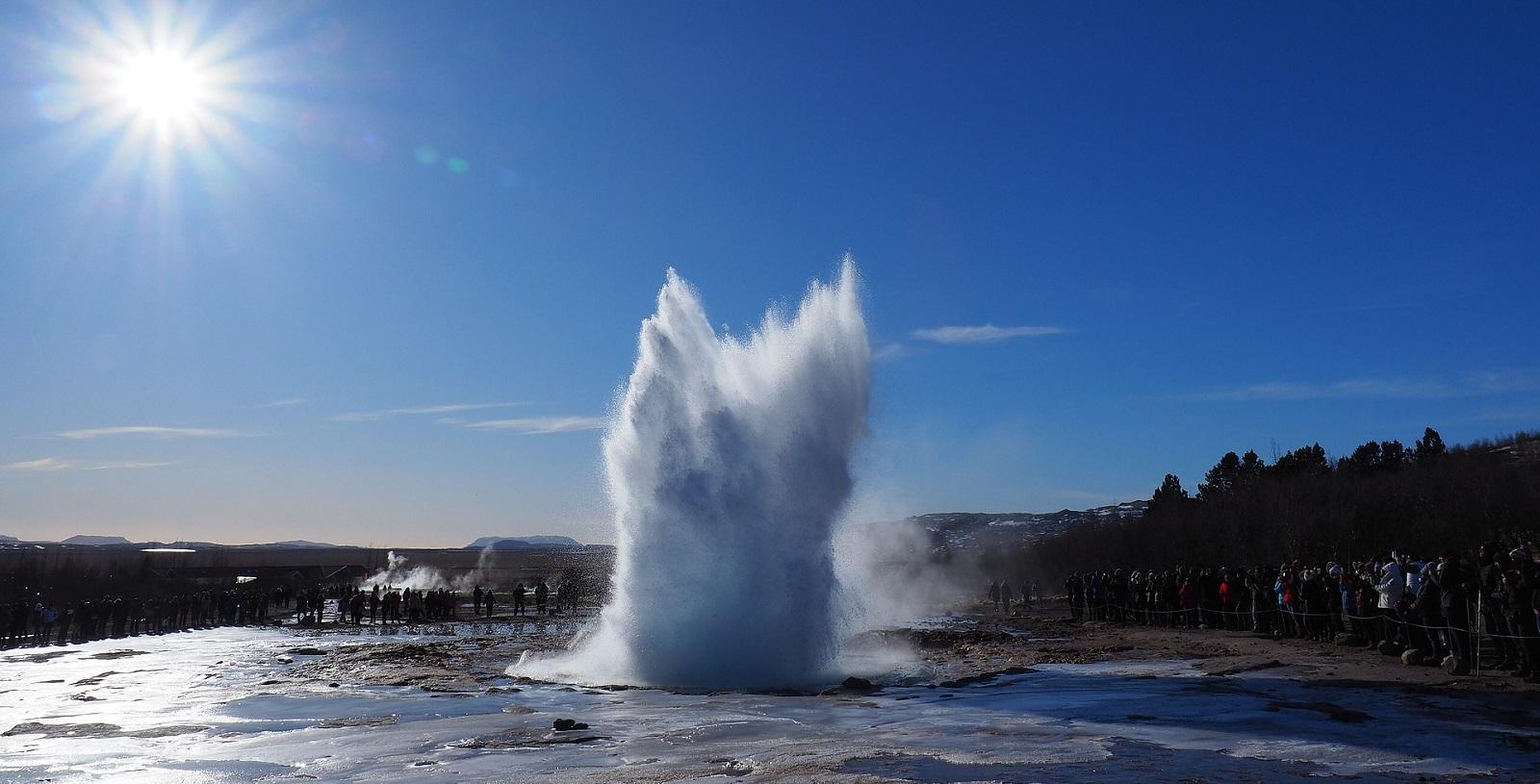 Geyser in Islanda