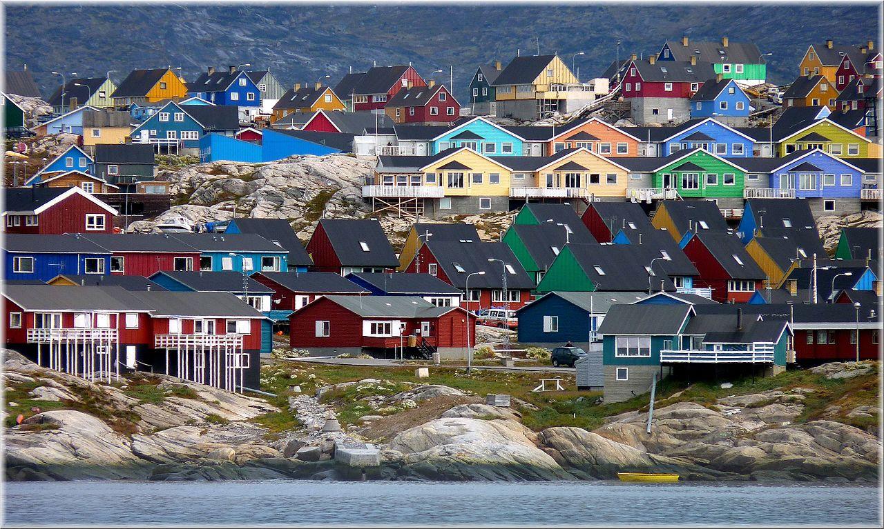 Ilulissat in Groenlandia