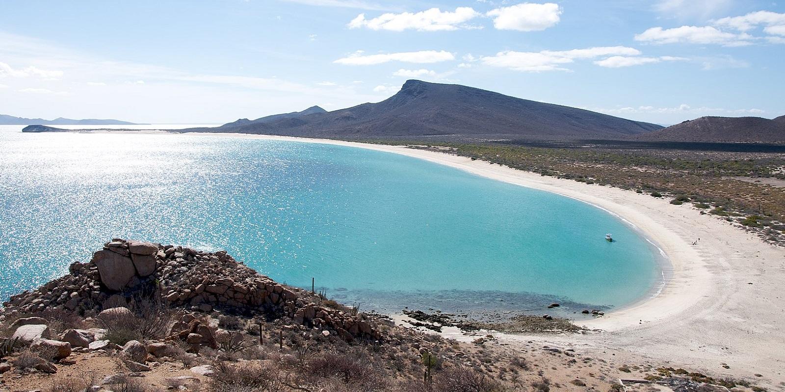 La spiaggia dell'isola Espiritu Santu