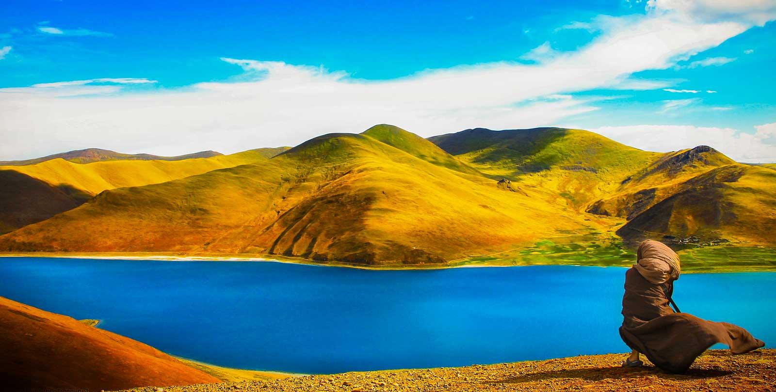 tibet lago yamdrok