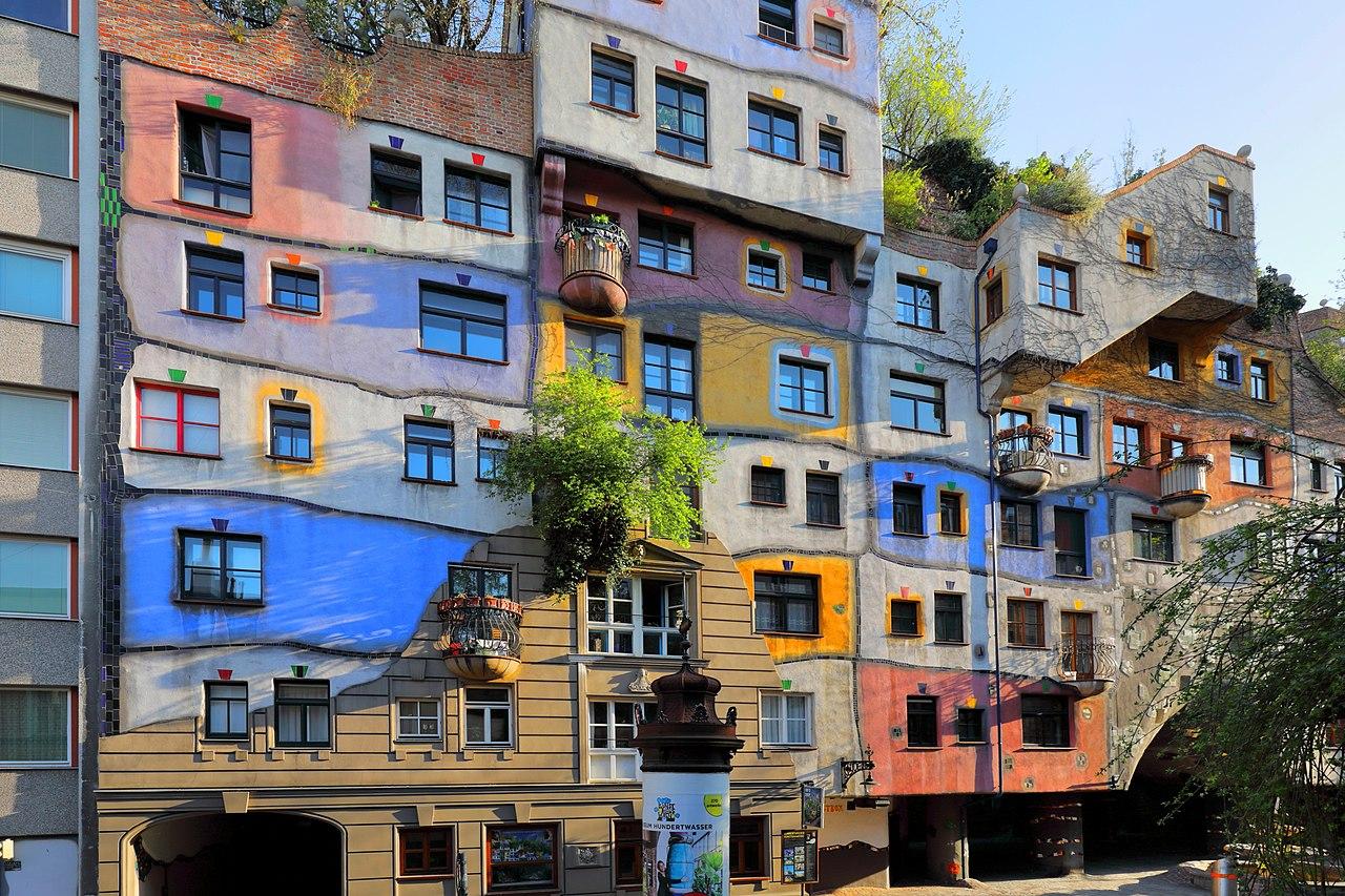 Hundertwasserhaus di Vienna